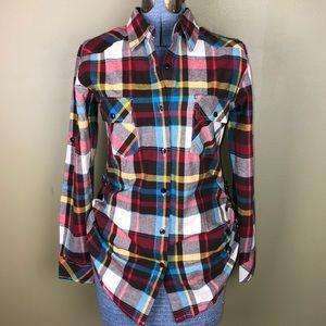 Matchstick flannel shirt S